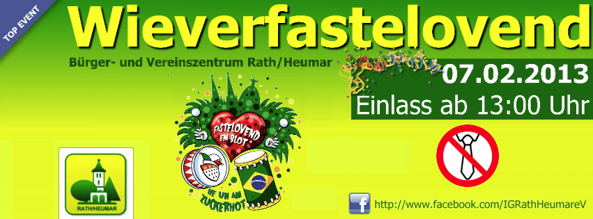 Karneval - BVZ-Wieverfastelovend 2013
