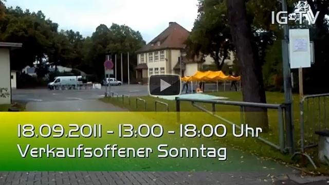 IG Events Herbstfest Aufbau