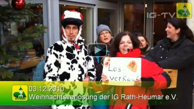 Events 2010 Weihnachtsverlosung
